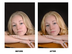 Ashley 001 Before and After (sedonabiscuitblue) Tags: portrait studio professional software