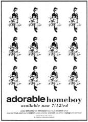 "Adorable Homeboy advert 1993 <a style=""margin-left:10px; font-size:0.8em;"" href=""http://www.flickr.com/photos/58583419@N08/5460674117/"" target=""_blank"">@flickr</a>"