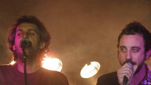 Rafa Pons y Lucas Macciano