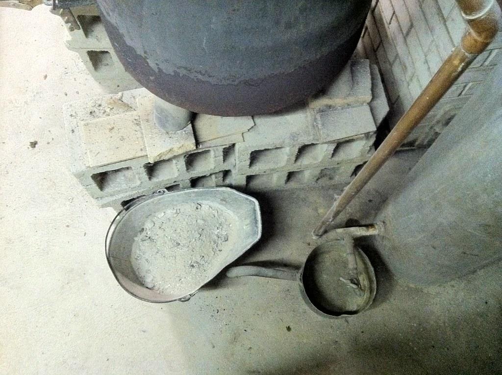 The ash bucket
