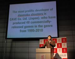 110223 - 遊戲公司「CAVE」在日前宣佈創下『發表最多款【彈幕電玩】的遊戲廠商』金氏世界紀錄!