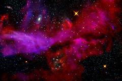 Deep Space 36 (mtnrockdhh) Tags: light lightpainting water glass stars experimental led galaxy nebula deepspace lightart hullbull