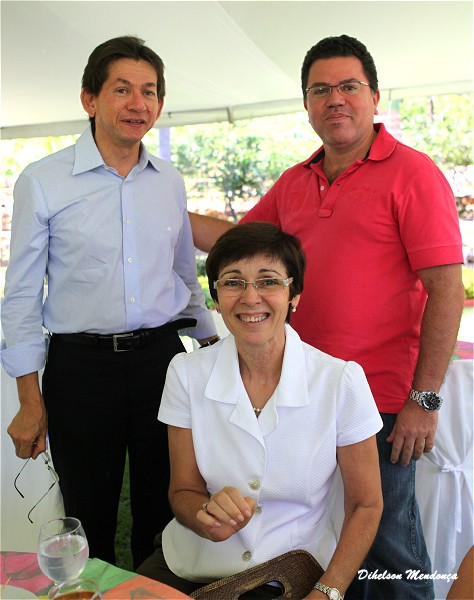 Auxiliadora e Rubens Almino Crato