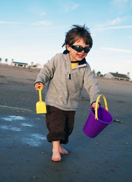 kes on the beach