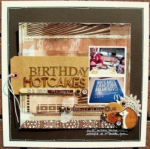 Birthday Hotcakes