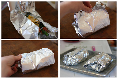 Sweet Potato Foil Packet Tacos | tex-mex recipes | grain-free recipes | taco recipes | sweet potato recipes | campfire meals | perrysplate.com