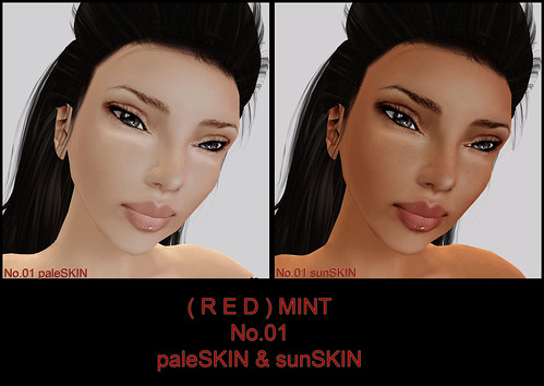 ( R E D ) M I N T ~ No.01 pale & sunSkIN