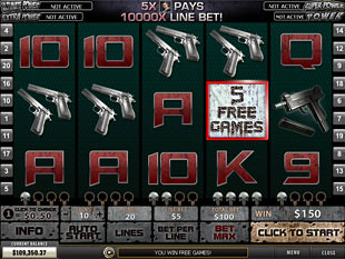 free Punisher War Zone slot collective bonus