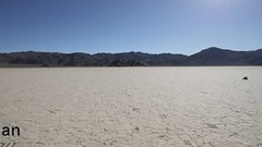 Making Tracks at the Racetrack Playa (4Durt) Tags: california mystery moving nationalpark rocks racing deathvalley grandstand racetrackplaya stopmotionanimation bestvideosflickr