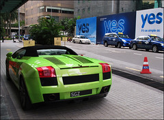 Yes! Its Verde Ithaca (Khoo Xotics) Tags: car italian exotic malaysia kualalumpur lamborghini supercar gallardospyder singaporeancar
