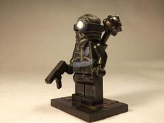 Alpha Prime for Defense Part 1: Assasin (CrazyBrck) Tags: lego barf minifigure faction brickarms brickforge cusotm crazybrick factionbarf