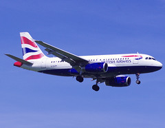 G-EUPP / Airbus A319-131 / 1295 / British Airways (A.J. Carroll) Tags: airbus british airways 1295 a319131 geupp