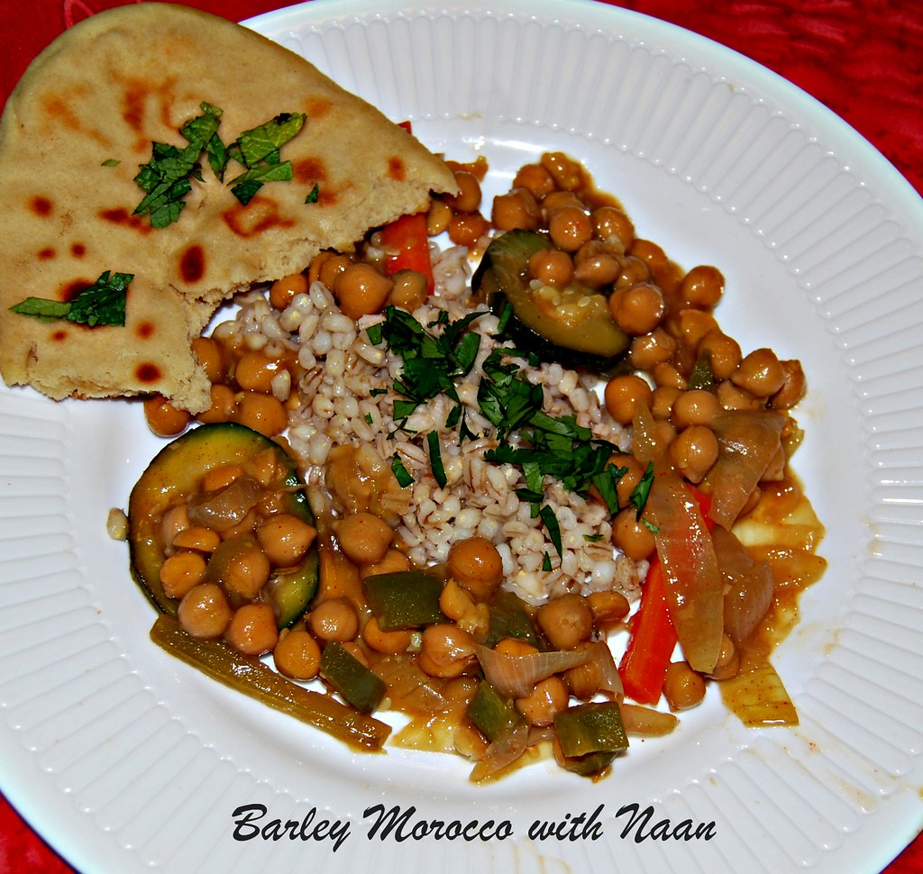 barley Morocco with Naan