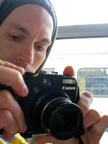 Justin with camera