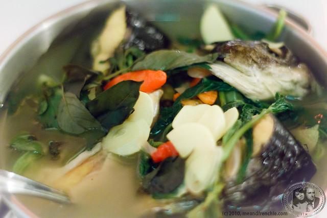 Very Delicious Fish Soup @ Kedai Tiga Nyonya