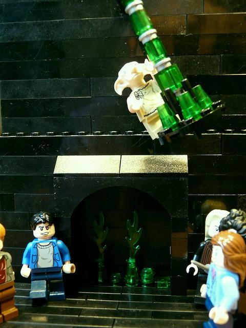 Moc Skirmish At Malfoy Manor Lego Licensed Eurobricks Forums