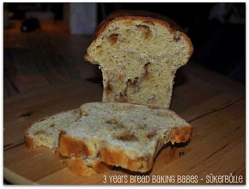 3 Years Bread Baking Babes - Sûkerbôlle