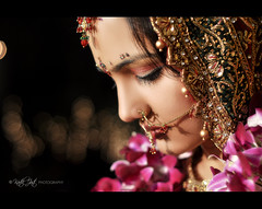 A New Beginning... (Shoot at Sight !!!!) Tags: wedding portrait woman beautiful bride nikon bokeh indian profile culture makeup marriage shy portraiture tradition nikkor ethnic 18105 newbeginning matrimony weddingphotography d90 indianbride bridaljewellery