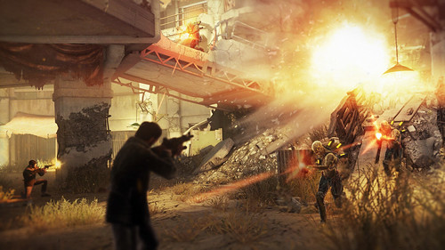 Resistance 3: Fort Lamy Action Arena Battle