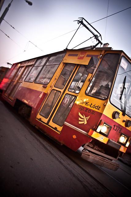 tramwaj Łódź