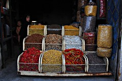 Spice Shop in Herat - Afghanistan (Na'eem) Tags: afghanistan religious shrine ansari herat abdullah      khawja