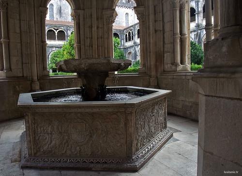 Lavabo, onde os monges lavavam aos mãos antes de comer