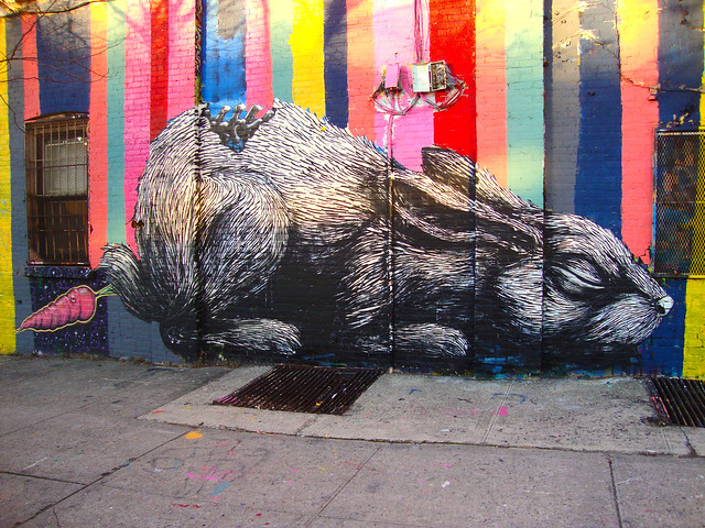 Graffiti Brooklyn - Roa