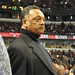 Rev. Jesse Jackson Sr. at the game