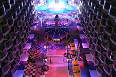Allure of the Seas Boardwalk (blmiers2) Tags: cruise nikon aqua theater ship cruiseship boardwalk royalcaribbean seas allureoftheseas d3100 allure1 cruisingalong blm18