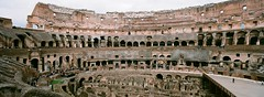 Colosseo, Rome (ChihPing) Tags: travel italy panorama rome roma film fuji superia iso400 panoramic hasselblad fujifilm xpan colosseo   xtra 30mm