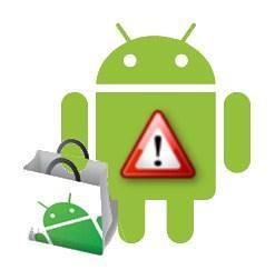 android market warning