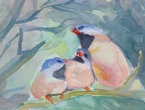 Birds by lynnslog