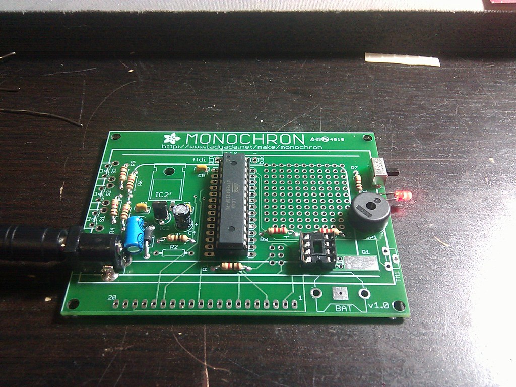 The Worlds Best Photos Of Clock And Geek Flickr Hive Mind Circuit Board From Notebook Computer Desk Geekery Clocks By Led Switch Function Test Mrbill Tags Nerd Diy Kit Soldering