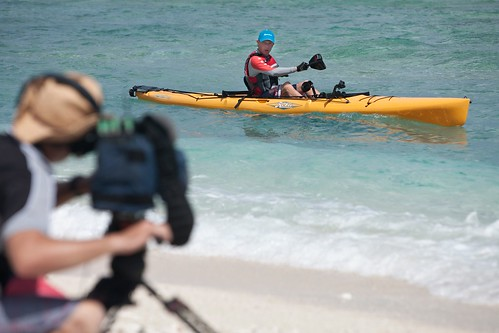 Filming on Lady Elliot Island for the Best Expedition in the World