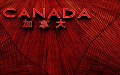 Canadian Pavillion Shanghai Expo (whistle.and.run) Tags: china wood canada architecture shanghai chinese modernarchitecture chinesecharacters chinesewriting shanghaiexpo canadianarchitecture cartooneffect canadapavillion shanghaiarchitecture