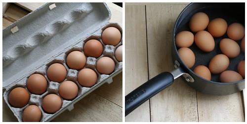 eggs mosaic