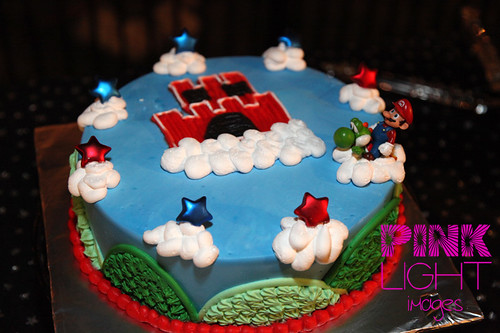 The Super Mario Brothers Cake!