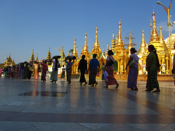 Golden Shwedagon Pagoda Pictures