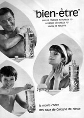 "the 1960s-ad for ""bien-tre"" Kln water (april-mo) Tags: perfume 1964 vintagead eaudecologne vintagemagazine 1964ad magazineforwomen vintagefrenchmagazineforwomen vintageadforeaudecologne bientreklnwater"
