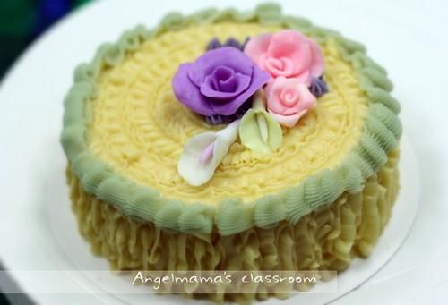 天使媽媽蛋糕皂教學台中 0014
