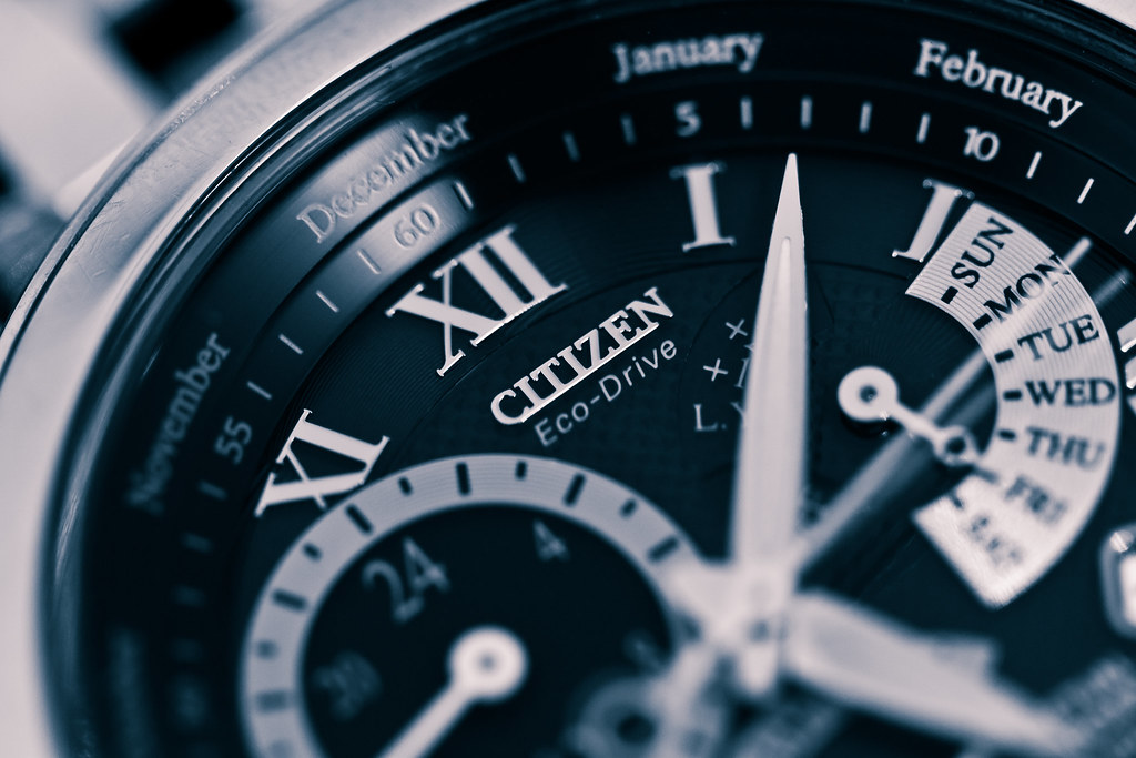 My watch : Citizen Eco-Drive