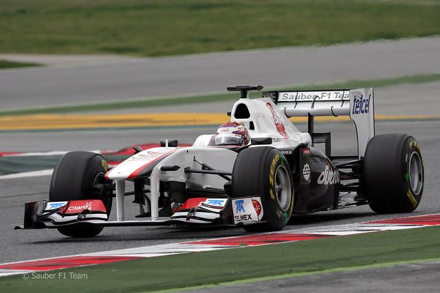 Sauber C30 2011 F1 2011 Kamui Kobayashi 31