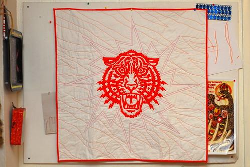 Tiger Quilt front