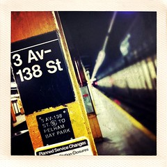 Not the first (JordanMiles) Tags: camera nyc newyorkcity light urban streets color texture modern vintage underground subway square grit polaroid concrete photography natural spirit availablelight bronx crossprocess naturallight crack age squareformat mta instantcamera cracked freelance softlight iphone photofx iphoneography iphoneographer