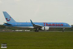 G-CPEV - 29943 - Thomson Airways - Boeing 757-236 - Luton - 100518 - Steven Gray - IMG_2201