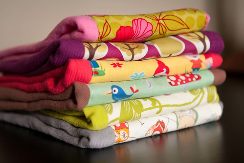 burp cloths.