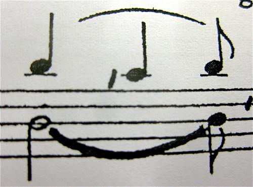 Fröhliche Noten