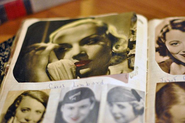 Old Hollywood Movie Stars, old magazines, magazines from the 1930's, DSC_0400