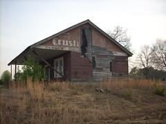 Crush (Gerry Dincher) Tags: grayscreek cumberlandcounty northcarolina march rural crush vintagesodasign tysons generalstore abandoned nchighway87 orangecrush gerrydincher