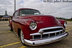 Photography Weekly Challenge (Cars N Trucks) (Jobe Roco) Tags: red chevrolet photoshop vintage nikon louisiana lafayette antique chevy chrome 49 modified custom coupe 1949 fleetline 2011 tamron18200mm 2352 d80 cmwdred southparkshoppingcenter photographyweeklychallenge